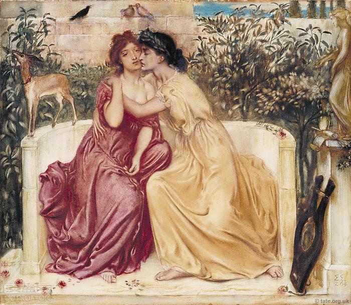 英国泰特用艺术呈现百年同性恋(组图)
