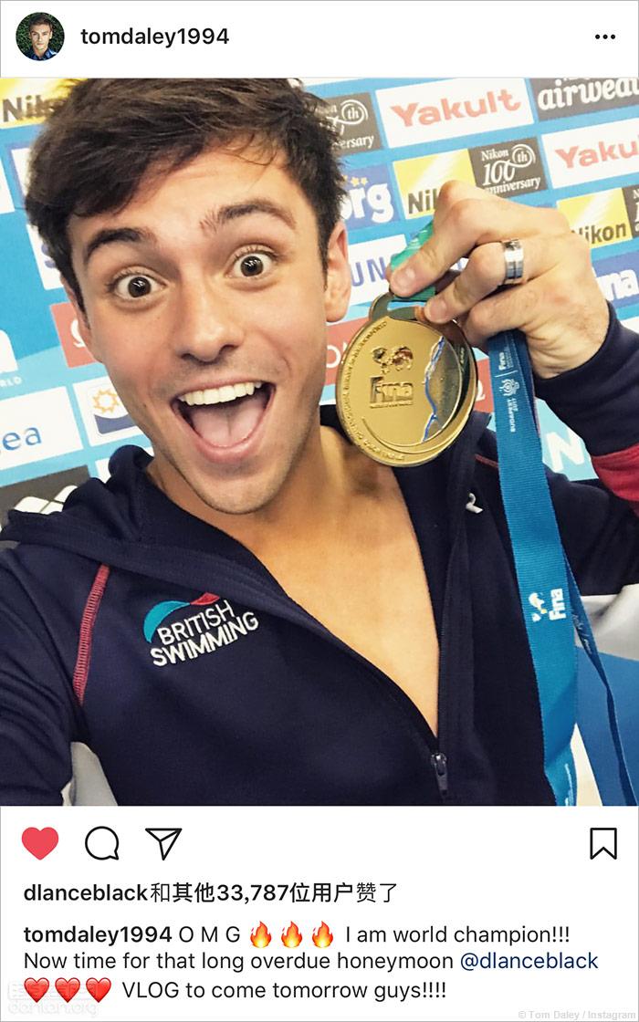2017游泳世锦赛,戴利夺得10米跳台金牌