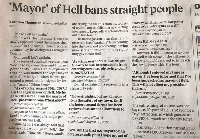 """在""""地狱""""小镇,异性恋差点被禁了"""