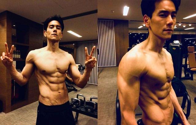娱乐圈中拥有完美身材的健身男神,很多女生追寻的偶像你认识吗?