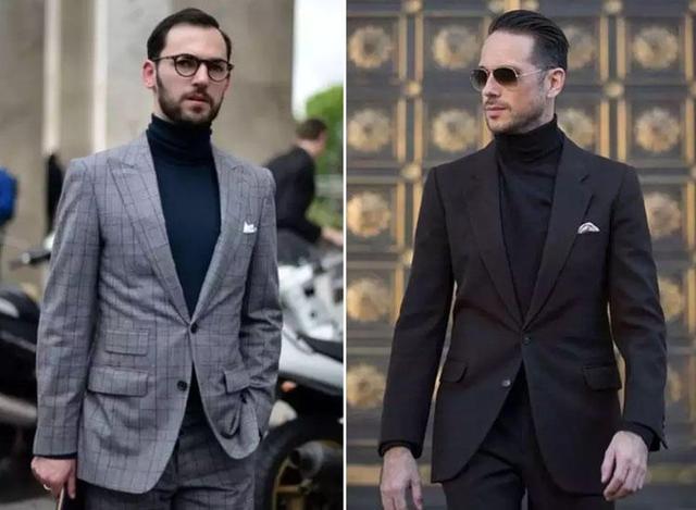 一衣多穿 3种高领毛衣搭配,你就是冬日里的男神本人!