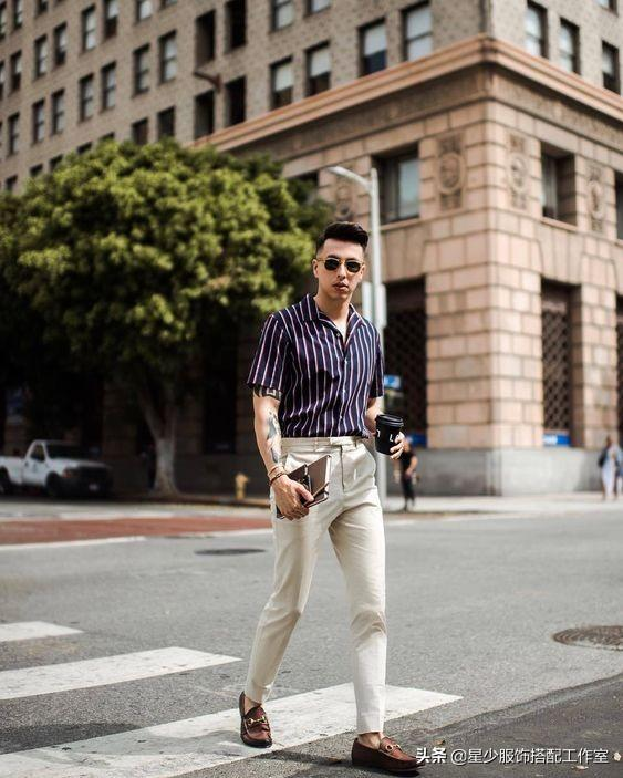 这个中国男模衣品绝了,一套衣服延伸了八种风格