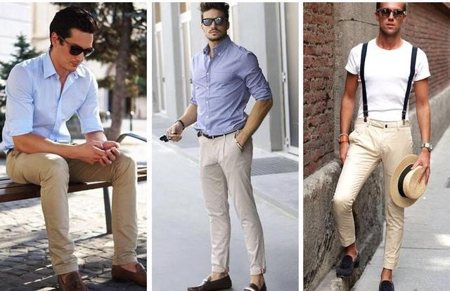 夏天休闲裤穿得好看的男士都有什么技巧?