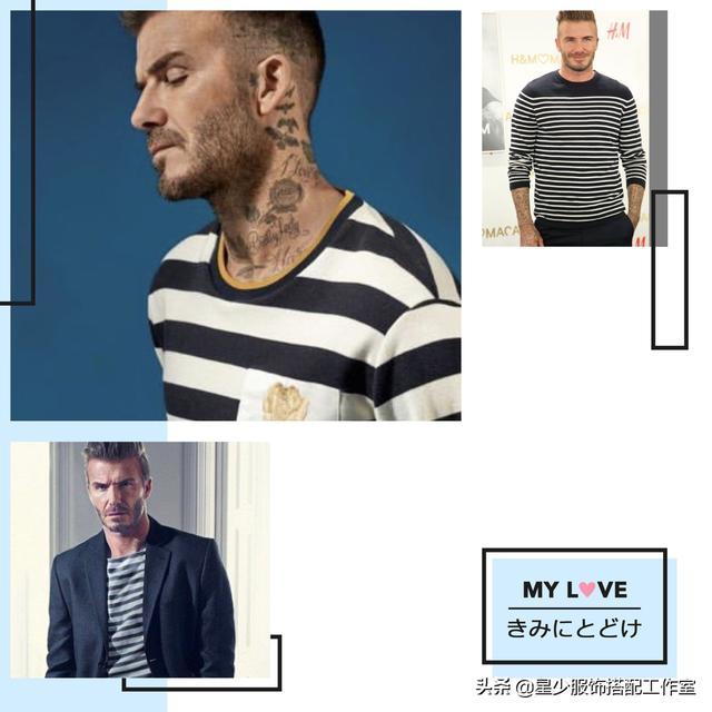 男人穿T恤,夏天无惊喜?条纹变海魂,六种搭配更显男人味