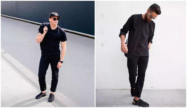 怎么把黑色穿的好看?