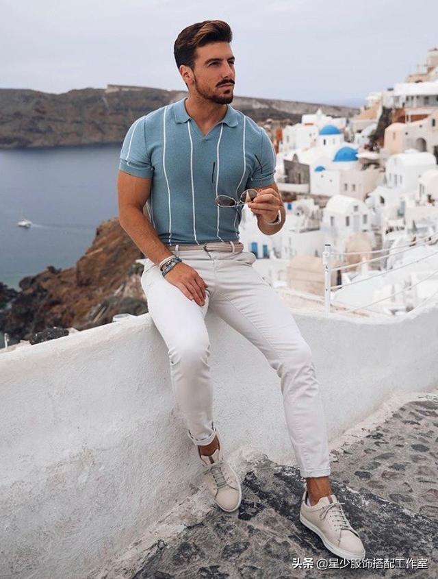 男人穿Polo 衫,非丑即帅?中间只差这3点