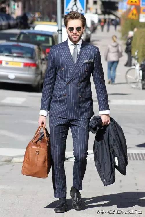 男人拥有大肚腩,穿了西装超难看?牢记这3个关键点,显瘦超简单