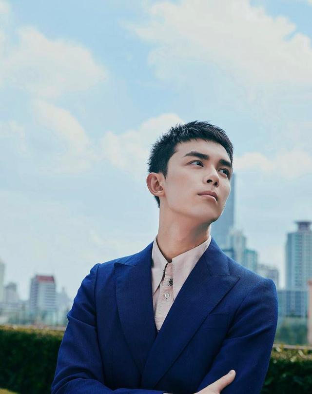 """吴磊是真长大了!海豚西装打领带变身""""行走的霸总"""",帅得掉渣"""