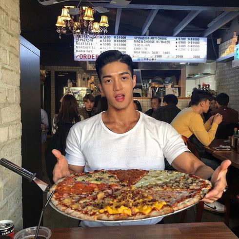 鲜肉脸+45公分的麒麟臂,这位韩国小伙的身材太给力了