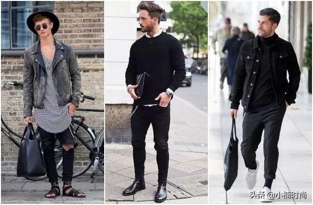 谁说宅变帅很难?掌握黑白穿搭的7个准则,造型质感立刻提升档次