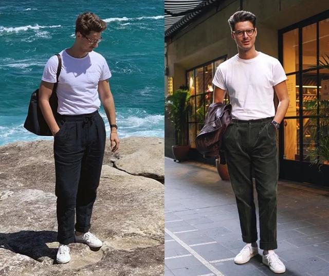 别人穿白T很时髦,自己穿起来却像睡衣,问题都出现在哪里?