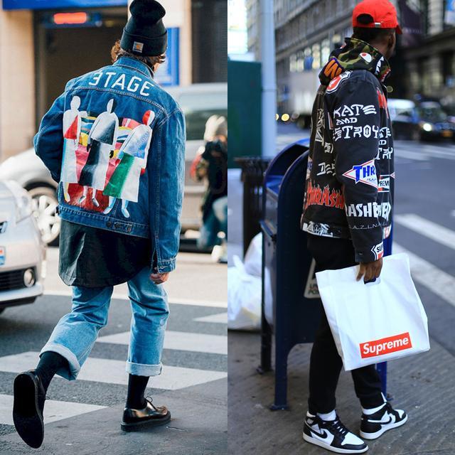 另类时尚外套,像素超人轻松玩转小众搭配