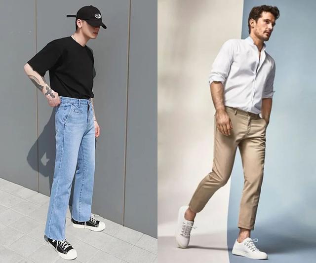男士必备的裤装,牛仔裤VS奇诺裤,哪一条你穿得更多?